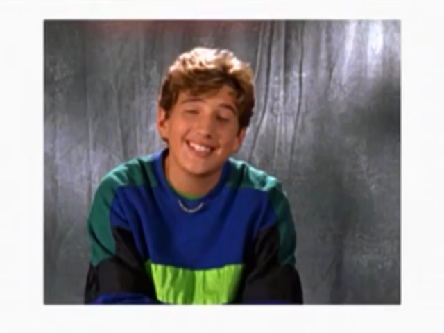 Ethan's School Photo in Lizzie McGuire Episode 102: Picture Day